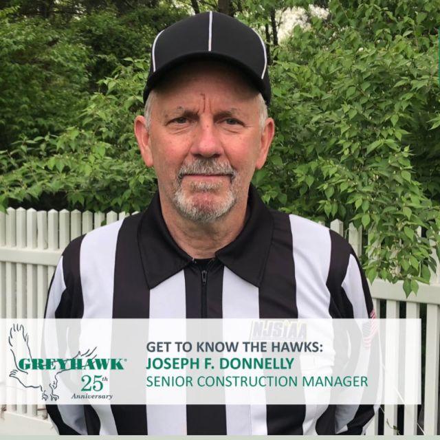 Happy HAWKiversary to Joe Donnelly this month. #TeamGREYHAWK #GettiknowtheHAWKS