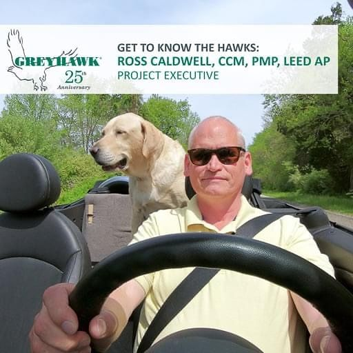 Happy Hawkiversary to Ross Caldwell. Thanks for all you do for #TeamGREYHAWK.  #GettoknowtheHAWKS #25thanniversary