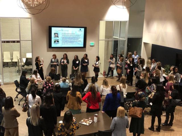 Another successful #CREWPhiladelphia 3Cs event at BEX.  Thanks for coming out tonight.